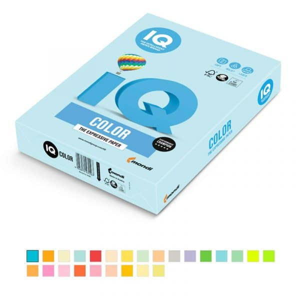 papel iq a4 color