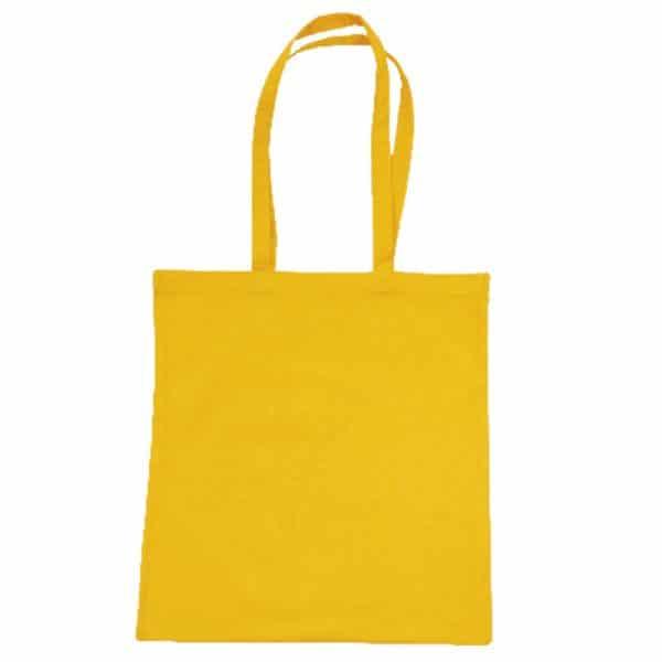 bolsa algodon colores amarillo