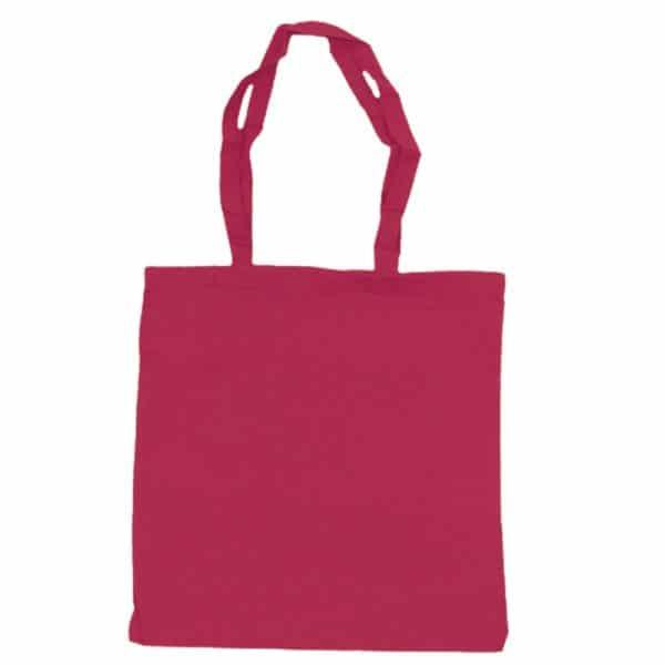 bolsa algodon colores rosa