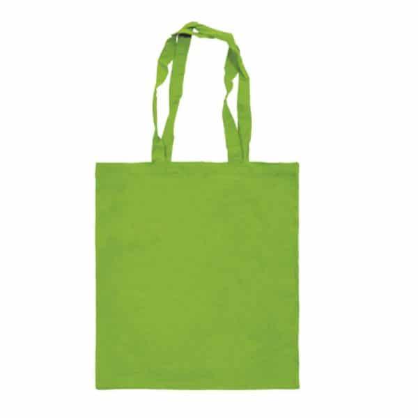 bolsa algodon colores verdeclaro