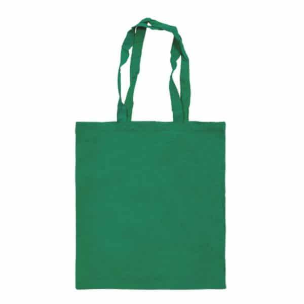 bolsa algodon colores verdeoscuro